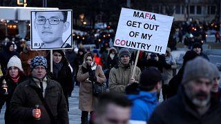 Conmoción en Bratislava tras el asesinato de Jan Kuciak