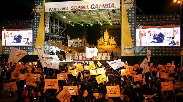 Iταλία: Έπεσε η αυλαία της προεκλογικής περιόδου