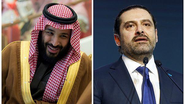"""صورة """"سلفي"""" للتأكيد على قوّة العلاقات السعودية-اللبنانية"""