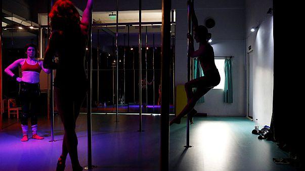 İstanbul'da 'direk dansına' ilgi artıyor