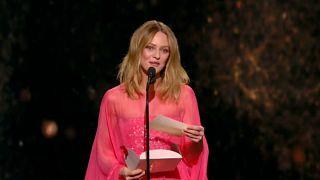 Paris'te Cesar Sinema Ödülleri töreni