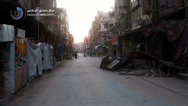 Ghouta: A prometida ajuda humanitária