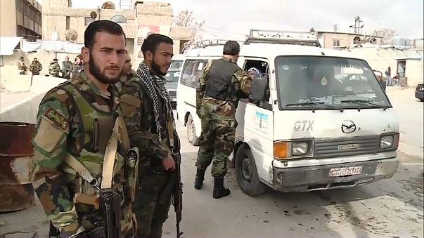 Continúan los bombardeos en la región siria de Guta Oriental
