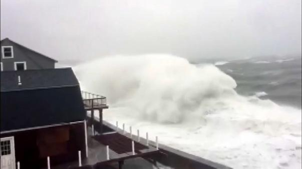 Las fuertes tormentas llegan a EEUU