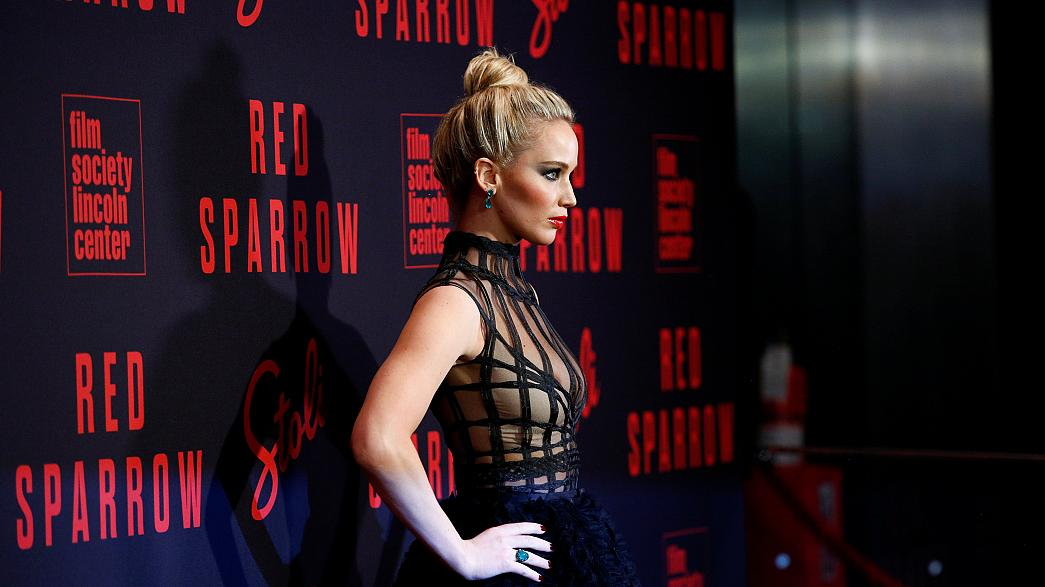 """Red Sparrow"" : Jennifer Lawrence en sulfureuse espionne russe"
