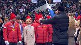Mosca: folla allo stadio per Putin in campagna elettorale