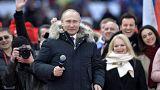 Η προεκλογική «φιέστα» του Πούτιν