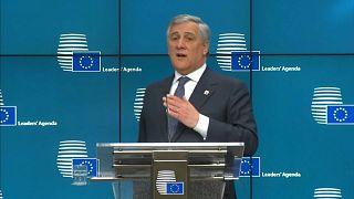 Yasaklı Berlusconi'nin başbakan adayı Antonio Tajani