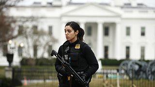 گزارش ها از تیراندازی در مقابل کاخ سفید
