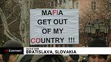 Manifestação de apoio a Kuciak