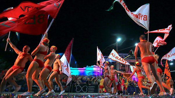 Mardi Gras arc-en-ciel à Sydney