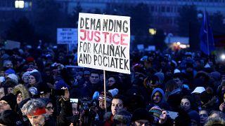 La Slovaquie rend hommage au journaliste assassiné