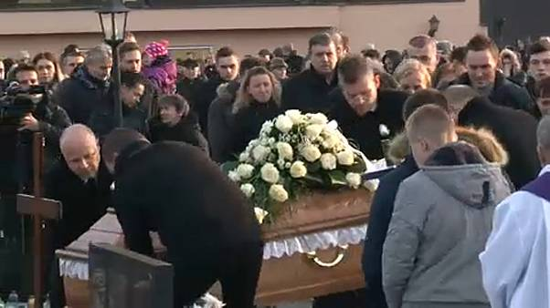Eltemették Ján Kuciakot