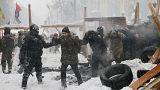 В Киеве разогнали сторонников Саакашвили
