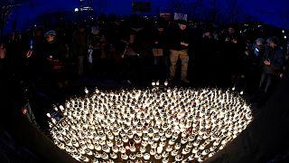 Thousands march for slain Slovak journalist