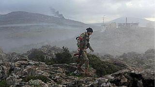در آخرین حمله هوایی ترکیه به نیروهای طرفدار بشار اسد در عفرین ۳۶ نفر کشته شدند