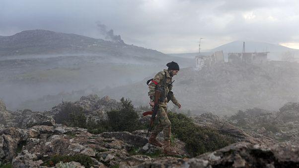 القصف التركي يستهدف 36 مسلحا مواليا للنظام السوري