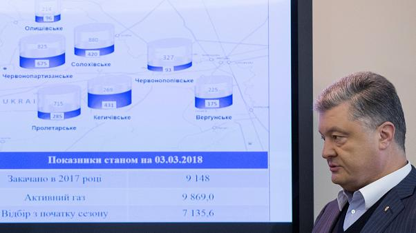 UE ajuda Ucrânia a anular suspensão do gás russo