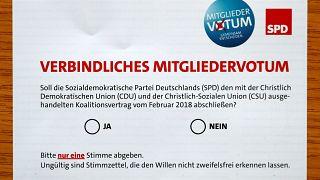 Τα μέλη του SPD ενέκριναν τη συμμαχία με τη Μέρκελ