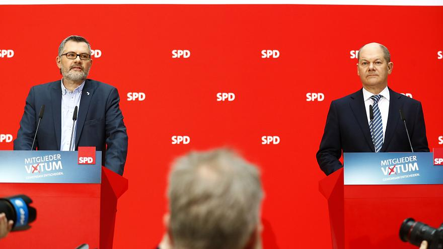 SPD vote gives Germany new 'grand coalition' government