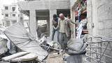 Syria: 'Families flee' as pro-Assad forces advance in Eastern Ghouta