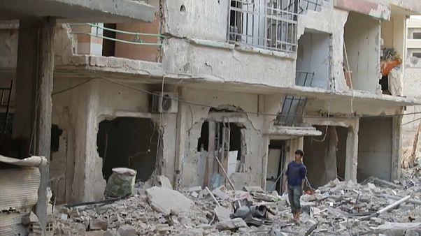 Doğu Guta'da sivil kayıpları artıyor