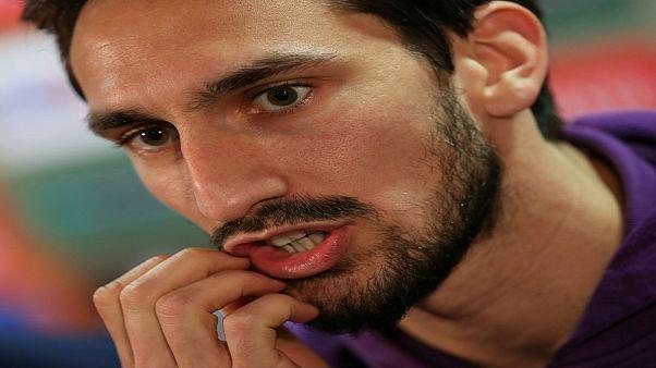 داویده آستوری، کاپیتان تیم فوتبال فیورنتینای ایتالیا در گذشت