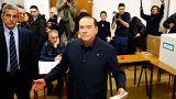Берлускони не стал смотреть