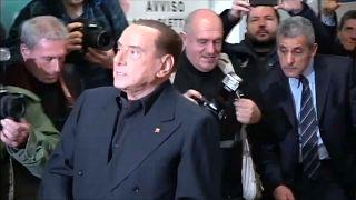 LIVEBLOG Wahlen in Italien: Berlusconi hatte Ärger, Hochrechnung um 23 Uhr