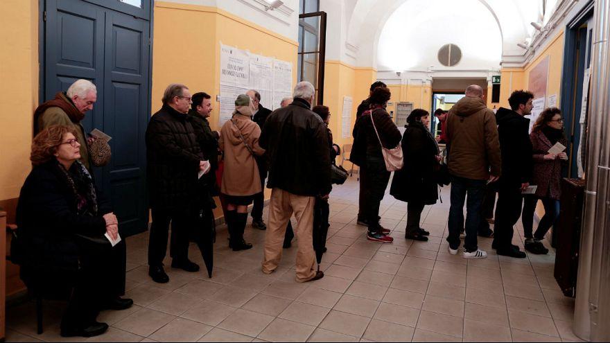 Sorok és zűrzavar az olasz választáson