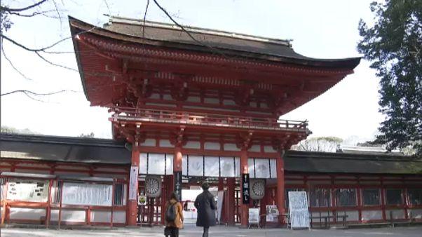 Kyoto'da geleneksel 'Kızların Günü' festivali kutlandı