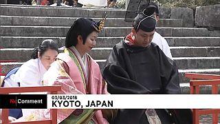 Kyoto marks Girls' Day