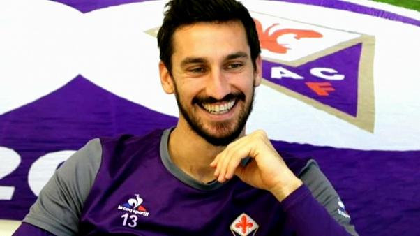 Conmoción en Italia por la repentina muerte del capitán de la Fiorentina