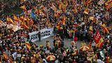 Tabarnia muestra su fuerza contra el independentismo