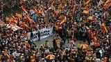Tabarnia saca músculo en Barcelona