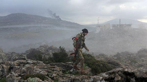 Afrin'e çıkan yollar TSK'da