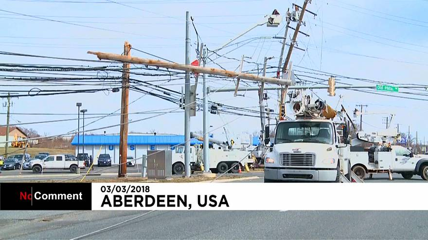 El temporal que azota la costa este de EE.UU deja al menos 7 muertos