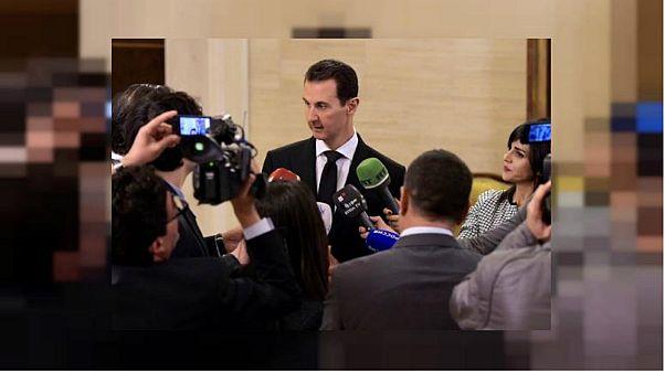 """الأسد: عمليات الجيش السوري في الغوطة ستستمر للقضاء على """"الإرهاب"""""""