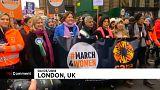 Marcha em Londres