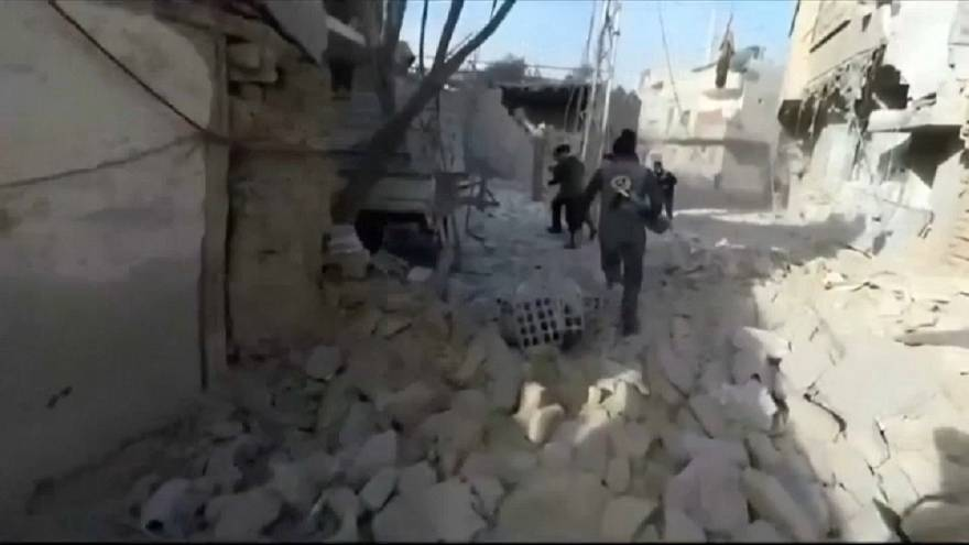 Assad's forces advance on Eastern Ghouta as residents flee
