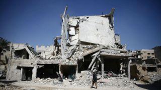 Bombardıman altındaki Doğu Guta'ya insani yardım ulaşmıyor
