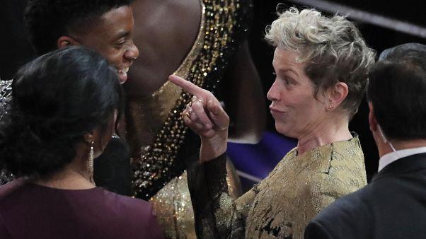 Frauenpower und Wasser: Die Oscars 2018 als wären Sie dabei gewesen