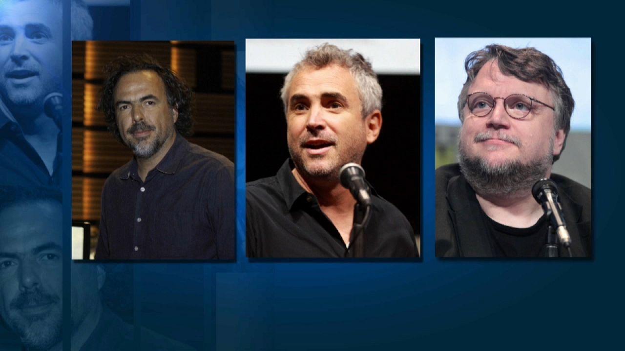 Cuarón, Iñárritu y del Toro, los reyes mexicanos de Hollywood