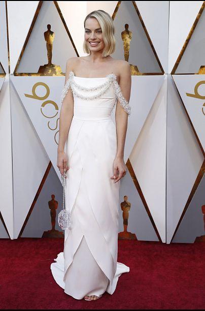 Gold, weiß, nude - die 5 schönsten Kleider der Oscar-Verleihung ...