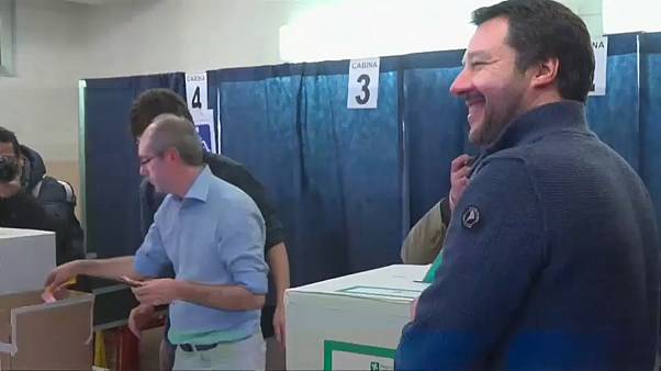 Centrodestra, è boom per Salvini, il Cavaliere va giù