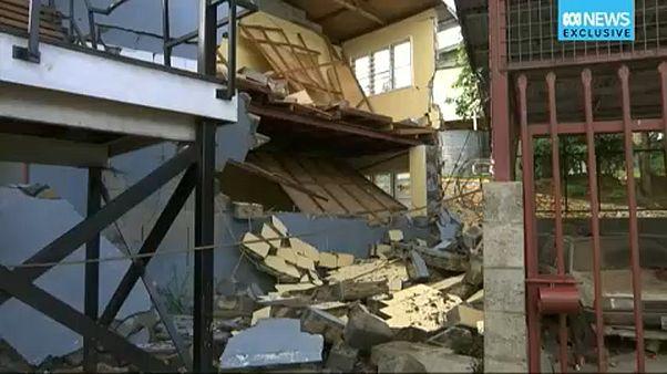 Pápua Új-Guinea: halálos földrengések