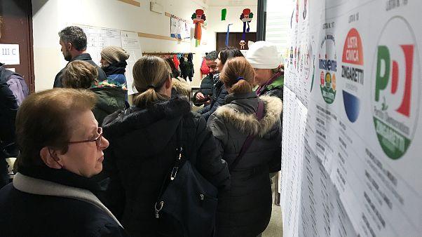 İtalya genel seçimlerinde halk 'koalisyon' dedi