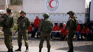 Δε διανεμήθηκε, λόγω βομβαρδισμών, όλη η ανθρωπιστική βοήθεια στη Γούτα