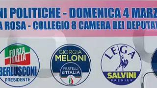 O peso da coligação de Berlusconi nas eleições italianas