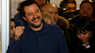 Watch again: Lega party leader vows to 'remain proudly populist' after huge gains in Italy election